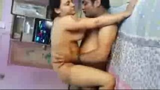 Desi threesome with clear hindi audio