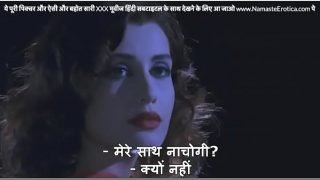 Hot babe meets stranger at party who fucks her creamy ass in toilet with HINDI subtitles by Namaste Erotica dot com