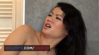 Hot French Desi wants anal sex in the bathroom with a random guy