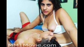 Indian Girl Breastfeeding Her Boyfriend (MM1Movie.com)