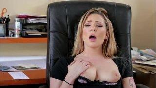 Office Secretary Want 2 Big Dicks