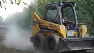 Sexy Indian Girl Driving Bobcat – Maya